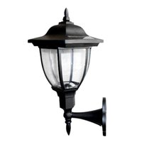 Wholesale Garden Wall Sconces - Wholesale- ASLT Solar Powered Outdoor LED Solar Lamps Garden Pathway Wall Landscape Light Wall Sconce for Home Outdoor Lighting Decoration