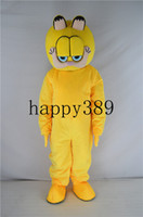 princesa de mascote adulto venda por atacado-2017 nova alta qualidade Garfield Natal traje da mascote da Páscoa tamanho adulto princesa mascarada bola fábrica