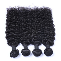cambodian kıvırcık saç paketleri toptan satış-9A Bakire Brezilyalı Saç Malezya Perulu Moğol Kamboçyalı Hint Işlenmemiş Jerry Kıvırcık Brezilyalı Saç Demetleri En Iyi Insan Saçı Örgü