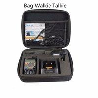 Wholesale Tyt Radio Case - Wholesale- Abbree Handbag Storage Box Bag Carrying Radio Case for Baofeng UV-5R 5RA B C D E  UV-82 BF-888S TYT Wouxun Walkie Talkie Ect