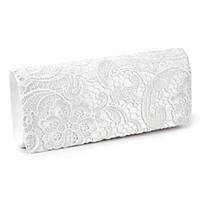 Wholesale Wholesale Clutch Frames - Wholesale-SAF- bag Shoulder wallet pouch Lace Floral Style Satchel clutch Fashion for Women Girl White