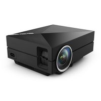 Wholesale Mimi Pc - Wholesale-Original GM60A Portable Mimi LED Video Projector with Wifi Micacast Airply For iPhone iPad Samsung Android Mobile Phone PC