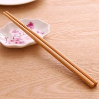 Wholesale chopstick bamboo - Bamboo chopsticks Chopsticks suit 10 pairs   sets No wax, no paint, environmental protection, pure natural bamboo chopsticks free shipping
