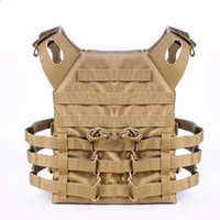 Wholesale Tactical Vest Airsoft Paintball - Tactical JPC Plate Carrier Vest Ammo Magazine Chest Rig Vest Airsoft Paintball Body Gear MOLLE System Wargame CS Body Armour JPC Vest