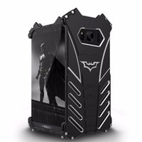 Wholesale Galaxy R Cover - Batman Metal Aluminum Armor Cover R Just Mobile Phone case for Samsung Galaxy S8 cell phone cover
