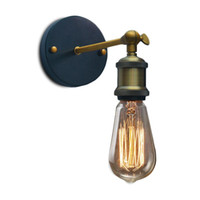 Wholesale Vintage Wall Lamp Retro Sconce Luminaire Industrial Lighting Lamparas E27 Base Loft Wandlamp Lights Luminaria Light Fixtures