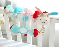 Wholesale Baby Nursery Toys - Baby toys nursery Decor baby bed pendant beby bed bell ring the bell