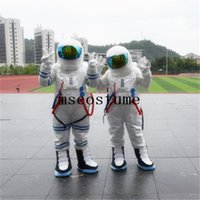 Wholesale Astronaut Costume Adult - 2017 new astronaut mascot costume Halloween costume dress dressed props adult size