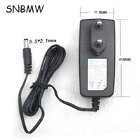 Wholesale 5v Dc Power Input - Wholesale- EU Plug Good Qulity 5V 1A 100-240V 50-60HZ Input Power AC Adapter Power Charger For Router Tablet PC Monitor DC 5.5*2.1MM