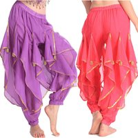 Wholesale india dance - Woman Bollywood Pants Women Belly Dancing Dance Pant Tribal Belly Dance Costumes Professional India Bellydance Egypt Pant Clothes