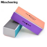 Wholesale manicure tools supplies resale online - set Way Nail Art Files Buffer Block Nail Tip Cleaner Manicure Tool Hot Selling DIY Polish Nail Supplies