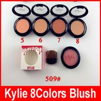 Kylie Jenner Blush Cosmetics Makeup Face Blush 9g Power Pressed Powerlight Marchi Blusher Make Up Tools Colori singoli 8 colori