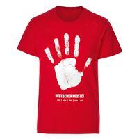 Wholesale German T Shirts - 16-17 German Bundesliga champion T-shirt red and black
