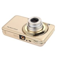 Wholesale Digital Camera 15mp - KINGEAR V600 2.7 Inch TFT 15MP 1280 X 720 HD Digital Video Camera With 5X Zoom