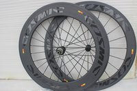 conjunto de roda 29er venda por atacado-Best selling COSMIC frente 60mm e traseira 88mm rodas de bicicleta de carbono 700C Com 23mm de largura bicicleta de Estrada BOB SLR 60 + 88mm roda de carbono frete grátis