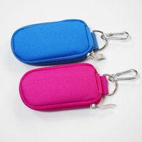 Wholesale Essential Orange Oil - Keychain Essential Oil Carrying Case Holds 10 Bottles 2ml&3ml for Travel ,Home Stock ( Purple ,Black)