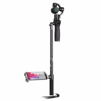 Wholesale Gimbal Bracket - dji osmo Extension Rod Pole Stick Selfie Extendable Pole Stick & Tripod Holder Bracket for DJI OSMO Handheld Gimbal