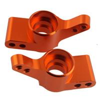 Wholesale hpi cars for sale - Group buy RC HPI Orange Alum Rear Hub Carrier L R For HPI Bullet ST MT