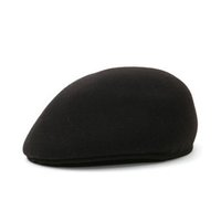 Wholesale Leisure Caps Hats - Autumn and winter Europe and the United States forward cap of the men's leisure high imitation wool woolen berets hat ceremony cap WMB058