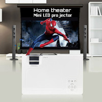Wholesale projector brands - Wholesale- 2016 brand CRE X1600 mini projector Home Theater Video LCD Tv cinema piCO HDMI Portable fULi hD 1080P LED Proyector beamer