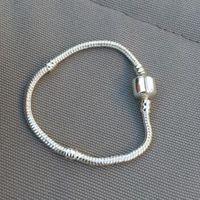 925 pandora libre al por mayor-Authenic 925 plata esterlina 17 cm-23 cm Logo con corona para Pandora Corchete estilo pulsera DIY componente de la joyería envío gratis