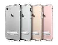 Wholesale Wholesalers Sgp - SGP Spigen 2017 new crystal hybrid with magnet stents removable for iphone 5 6 6s 6plus 6s plus 7 7plus samsung S8 S6 S6edge S7 S7edge
