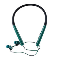 Wholesale 4.2 bluetooth resale online - New MS Earphone Bluetooth Wireless Hi Fi Neckband Chain Type Stereo Sport Headset with Mic for Sony iPhone Samsung Smart Phones