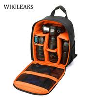 Wholesale Fashion Slr Bag - Wholesale- SLR Camera Bags Designer Backpack Luggage Travel Back Pack Luxury Backpacks Waterproof Backpack Camera Bag Chain Backpack DB145