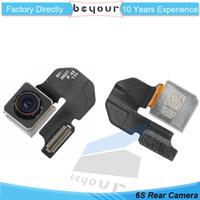 Wholesale Module Repair - Original OEM Back Rear Camera Flex Cable Ribbon Module Lens Flash Repair Parts Replacement for iPhone 6s 4.7