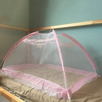 Wholesale Kids Children Curtain - 110*80*80Cm Mosquito Net Mosquito Curtain Bed Net Auto Tent Mosquitoes Nettings Folding Portable For Baby Toddlers Kids Beddings