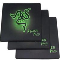 maus razer goliathus großhandel-Neueste PC Mauspad Pad Razer 250x300X2mm Goliathus Locking Edge Gaming Geschwindigkeit Version Mousepad Für Spieler Kostenloser Versand