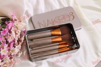 Wholesale Function Sample - sample order link:12pcs makeup brushes ,Powder brush pack in iron case,10 function design 50pcs accept OEM order