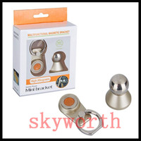 Wholesale magnets items online - New items in Metal Cat Finger Ring Strong Magnetic Magnet Rotating Universal Car Use Phone Holder GPS Mount Desk Stand