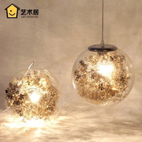 Wholesale Modern simple dining room chandelier creative personality fantasy children room bedroom living room lights Nordic glass hanging lamps