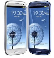 "Wholesale S3 Android Quad Core - Original unlocked Samsung Galaxy S3 i9300 Android mobile phone 3G GSM 4.8"" 8MP GPS WIFI i9300 refurbished phone"