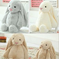 Wholesale Pink Stuffed Bunny - Lovely Stuffed Bunny Rabbit Baby Girls Toys Easter Decorations 30CM 40CM 50cm Animals Soft Stuffed Dolls Toy Christmas Holiday Gifts