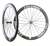 Wholesale Custom Shape Stickers - Velosa Celerro 50 bike carbon wheelset,50mm clincher tubular 700C road bike wheel wider U shape rim,super light, custom sticker