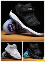 Wholesale Baby Girl Pre Walker Shoes - Kids 11 XI Space Jam Shoes Little Baby Boys Girls Toddlers 11s Gamma Concord Bred Pre-Walkers Sneaker 6C-10C