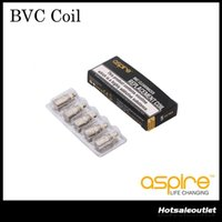 Wholesale Ce5 Coil Replacement - Aspire BVC Coils Head For Aspire BDC Atomizers CE5 CE5S ET ETS Vivi Nova Mini Vivi Nova BDC Replacement Coils 1.6 1.8 2.1 ohm 100% Original