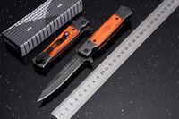 Wholesale sog rescue resale online - 2017 SOG KS931 Stonewashed Flipper Tactical Folding Knife Wood Handle Outdoor Camping Hunting Survival Pocket Knife Rescue EDC Tool