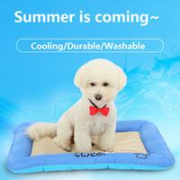 Wholesale Dog Pet Pad - Summer Cooling Dog Bed Mat Pet Dog Kennel Mat Big-Size Large Dog House Blanket Cooling Pet Mat Cat Bed Summer