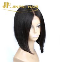 Wholesale JP Hair Virgin Lace Front Short Human Hair Wigs Swiss Lace Super Star Bob Wigs