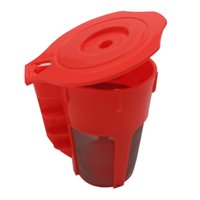 Wholesale steel essential for sale - Group buy Coffee Filter Multi Function Permanence Reuse Capsule Shell Red Filtration Cup High Quality Family Essential Tools hy J R
