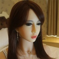 Wholesale Chinese Adults Girls - Pure Girl Face Sex Dolls Soft Skin Silicone Sex doll for Men Vagina Real Pussy Sexy Doll Chinese Lifelike Adult Love Doll