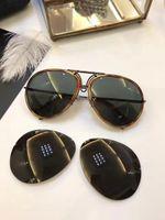 Wholesale Golden Trims - Cool mens Design P8613 Gold   Brown Tortoise Trim Sunglasses Fashion Designer Sunglasses Brand New with Case