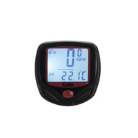 Wholesale Wiring Accessories Functions - New 23 Functions Sunding Waterproof Wired Bike Computer Digital LCD Backlight Bicycle Speedometer Odometer Bike Accessories