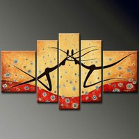 Wholesale texture abstract panel paintings for sale - Wall decoratiln art abstract painting Manual Arts Composition of paintings Thick bottom texture Home decoration Hot