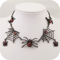 Classic black spider necklace - ENZE new black spider necklace series for women