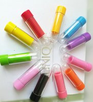 Wholesale Free Lipstick Samples - Free Sample Mini Tube for Lipstick DIY Empty Clear Homemade Lip Balm Tube Container 9mm Transparent Refillable Bottle