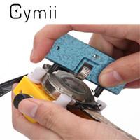 kit de reparación de batería al por mayor-Al por mayor-Cymii BABAN Herramienta de reparación del reloj-Abrebotellas / Llave de cambio de batería / Removedor de la cubierta / Soporte Kits de herramientas de reparación de reloj Accesorios del reloj
